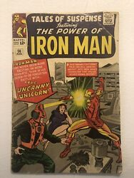 Tales Of Suspense 56- Featuring The Power Of Iron Man-the Uncanny Unicorn-