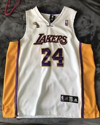 Adidas Kobe Bryant Los Angeles Lakers Authentic Jersey Size 50 Championship