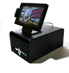 Zebra Instant Smartphone Photo Prints And Gifts Vending 11.6 Inch Touchscreen