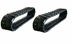 2pc 15 Wide Rubber Track 380x86x52 Ihi Cl 35 Skid Steer