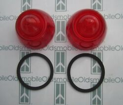 1953 Oldsmobile 88 And Super 88 Tail Light Lenses And Gaskets Kit. New Pair