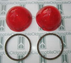 1952-1953 Oldsmobile 98 And Fiesta Tail Light Lenses And Gaskets Guide R3-52 Imprint