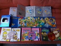 The Simpsons Dvd Lot, Seasons 1 And 4, Gone Wild, The Movie, Treehouse Horror Lot