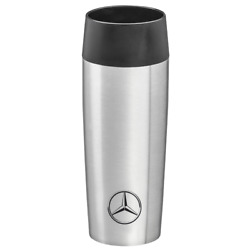 Mercedes Benz Original Coffee/thermos Cup 036 Ltr. Stainless Steel Silver Nip