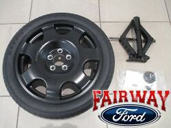 15 Thru 21 Mustang Oem Genuine Ford Spare Wheel Tire Kit With Jack And Wrench New