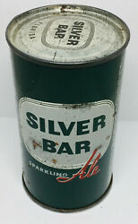 Price Reduced Silver Bar Alesouthern Brewing Co. Tampa Fla. 12 Ounce Flattop