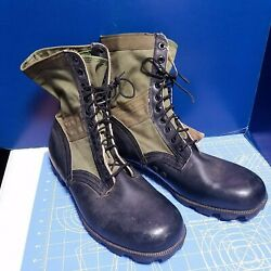 Menand039s Nos Vtg Us Army Vietnam War Jungle Boots Sz 14w Spike Protective