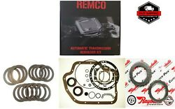 TH400 65 UP TRANSMISSION REBUILT KIT MASTER OVERHAULT KIT CLUTCHES AND STEELS W $94.85