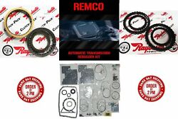 6R80 09 14 TRANSMISSION MASTER KIT WITH OVERHAULT KIT CLUTCHES AND STEELS W OU $490.78