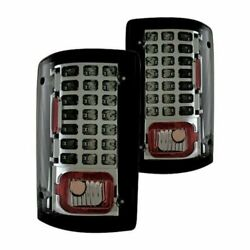 New Smoked Tail Light Set For 95-12 Econoline E-series 00-05 Excursion Fo2801114