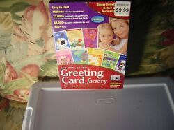 Art Explosion Greeting Card Factory Deluxe Version 6 Software Cd From Nova