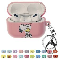 Willbee Face For Airpods Pro Case Keychain Key Ring Hard Pc Cover