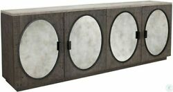 Classic Home Furniture Wilder Reclaimed Pine Wood Concrete Laminate Sideboard