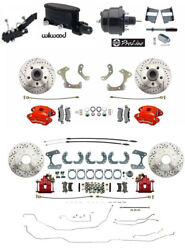 1965-68 Impala Belair Front And Rear Disc Brake Conv., Wilwood, F And R Line Kit