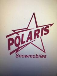 Vintage Polaris Racing Decal Sticker Buy 1 Get 1 Free Decals A Must Have