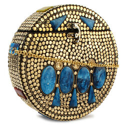 Handmade sling bag Indian vintage Antique Ethnic women girl gift party clutches $39.00