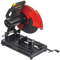 14 Inch Chop Saw With Heavy Duty Steel Base Vice Clamp Assembly Blade Included
