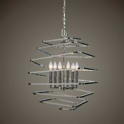 Coillir Urban Industrial Modern Xxl 25 Art Coil Metal Pendant Chandelier Light