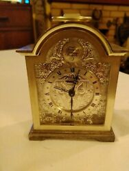 Silver Plated Swiss Tempus Fuoile Carriage Clock