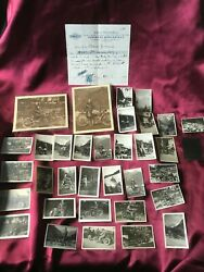 Harley Davidson Real-photos 1920s-lot Of 33+more 20s-biker/motocycle-collection