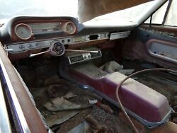 1964 Galaxie Convertible Top And Frame, Quarters And Trunk Pan