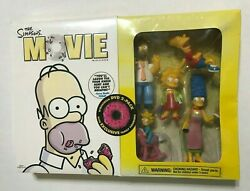 New Sealed The Simpsons Movie Dvd 2 Pack Family Figurines 2007