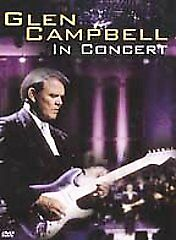 Glen Campbell In Concert - Live At Sioux City Dvd, 2001 Still Sealed