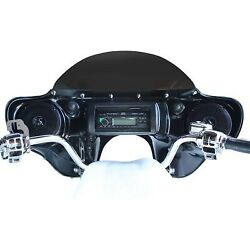 Hoppe Industries - Hpkt-0053a - Sportzilla Fairing With Stereo Receiver Harley-d