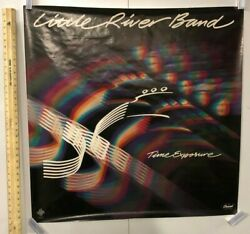 Vintage Music Poster The Little River Band Time Exposure 1981 The Night Owls