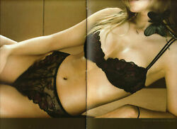 Huit 8 Refect C5 Balcony Bra And Thong Black Purple Calais Lace Bnwt Rrp Andpound71