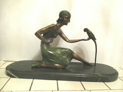 ANTIQUE D H.CHIPARUS ART DECO