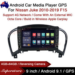 """9"""" Android 10.1 Car Stereo Non-dvd Gps Radio Head Unit For Nissan Juke F15"""