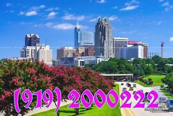 919 Area Easy Phone Number 919-2000222 Raleigh Nc Memorable Eyes Catching
