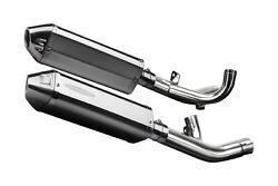 Delkevic De-cat 13 Stainless Tri-oval Muffler Yamaha Vmax 1700 - 09-19 Exhaust
