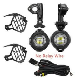 Led Fog Lamp Auxiliary Driving Light For Bmw K1600 R1200gs R1100gs F800gs Motors