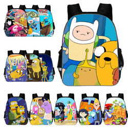 Adventure Time with Finn and Jake School Backpack Travel Bag Loptop Bags $20.99