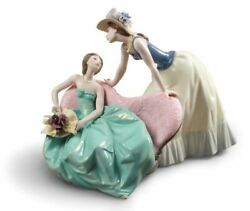 Lladro How Is The Party Going Women Figurine 01009222