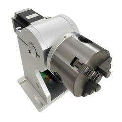 Fiber Laser Marking Machine Rotary Axis Rotary Chuck Rotating Shaft With Driver