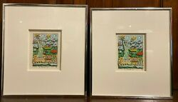 Two James Rizzi 3-d Liberty Signed - Both Ap