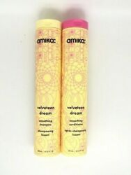 Same Day Ship Amika Velveteen Dream Smoothing Shampoo And Conditioner 10 Oz Duo