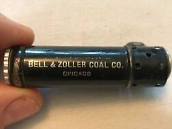 Bell And Zoller Coal Co. Vintage Dunhill Service Cigarette Lighter, Chicago, Ill.