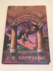 Harry Potter Sorcerer's Stone First Edition Signed Jk Rowling