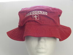 Lifeguard Red Bucket Hat $11.00