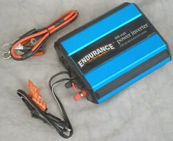 Endurance 400w Power Inverter Convert 12v Dc To 110-120v Ac W/usb And 12v Outputs