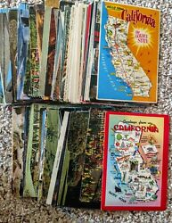 California 190 Misc Postcards Cities Disney Nbc Country, Monuments All Kinds
