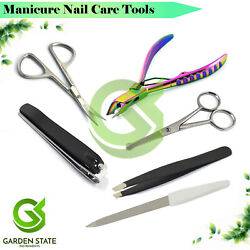 Personal Nipper Clipper File For Menand039s Ear Nose Hair Scissor Manicure Grooming