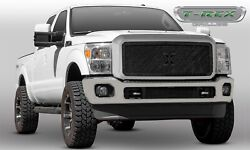 T-rex Grille Grills 6715461-br Black X-metal Series Mesh Grille Grill Assembly