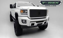T-rex Grille Grills 6712111-br Black X-metal Series Mesh Grille Grill Assembly