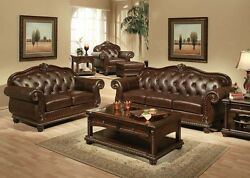 Acme Anondale Tufted Sofa And Loveseat Furniture 15030