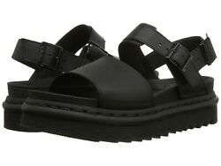Women's Shoes Dr. Martens Voss Casual Leather Sandals 23802001 Black Hydro